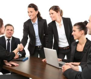 vie professionnelle – réunion de travail