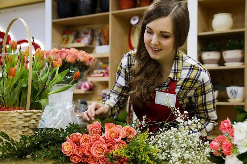 vie professionnelle – fleuriste